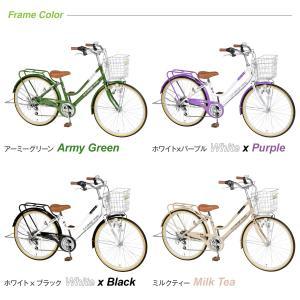 自転車 子供 24インチ 小学生 男の子 女の子 変速 パイプキャリア アウトレット FT246 a.n.design works カンタン組立|tokyo-depo|02