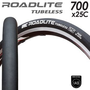 IRC ROADLITE HP82 チューブレス W/O 700×25C フォールディング 345g...