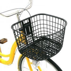 自転車 カゴ バスケット お買い物  OGK FB-053K 大容量まえ用バスケット 24L|tokyo-depo
