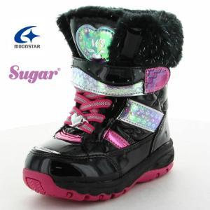 ムーンスター Sugar シュガー SG C44SP キッズ 女の子 スノーブーツ 子供用防寒ブーツ 防水設計 折りたたみスパイク付|tokyo-do