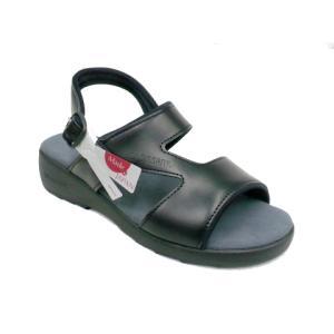 CROISSANT クロワッサン CR4592 レディース カジュアルサンダル コンフォートサンダル 本革 tokyo-do