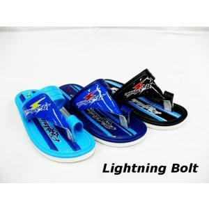 マルチュウ産業 LIGHTNING BOLT ジュニア 男の子 ビーチサンダル 指付きサンダル ベンハー|tokyo-do