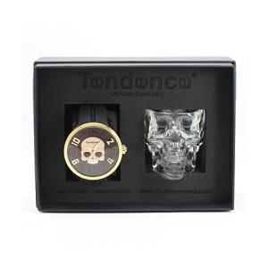 Tendence  テンデンス ハイドロゲン腕時計 05023015 と超レアスカルグラスのセットモデル 限定品 ハイドロゲン コラボ スカル 正規品 スカルグラス付き|tokyo-ec