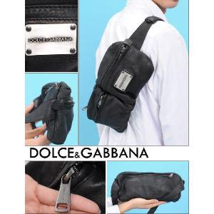 DOLCE&GABBANA/ドルチェ&ガッバーナ LAVATA ASH WASHウエストバッグ BP1612 A6O04 80999|tokyo-ec|03