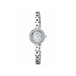正規品 CITIZEN Kii: シチズン キー レディース腕時計 エコドライブ ソーラー 28ポイントダイアモンド EG2910-55A|tokyo-ec