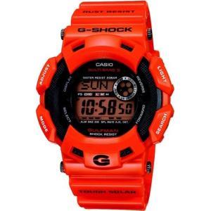 [カシオ]CASIO 腕時計 G-SHOCK ジーショック GULFMAN タフソーラー 電波時計 MULTIBAND5 Men in Rescue Orange GW-9100R-4JF メンズ|tokyo-ec