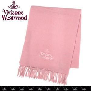 Vivienne Westwood ヴィヴィアン ウエストウッド  マフラ-  秋冬 新作 ヴィヴィアン マフラー ピンク|tokyo-ec