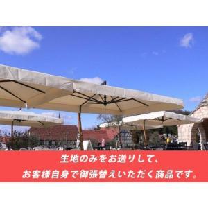 【御張り替え用生地単品販売】イタリアFIM社/カプリレーニョ(国内モデル版)※キャンパス生地(サンブレラ社製オフホワイト)のみご提供となります。|tokyo-gardening