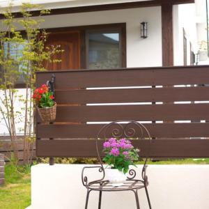 樹脂フェンス|アルファウッド ユニットフェンス1型 T8パネル(高さ80cm)|tokyo-gardening