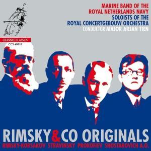 オランダ王立海軍軍楽隊/リムスキーと仲間たち 〜 ロシアの吹奏楽傑作選