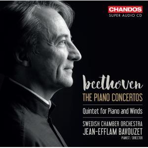 ジャン=エフラム・バヴゼ/ベートーヴェン: ピアノ協奏曲全集(3SACDハイブリッド)