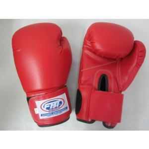 FBT ボクシンググローブ PRO 14oz 赤|tokyo-muaythai