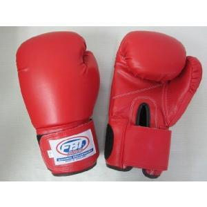 FBT ボクシンググローブ PRO 16oz 赤|tokyo-muaythai
