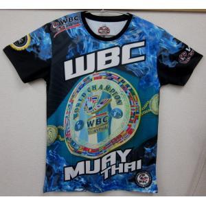 WBCムエタイコラボ 数量限定  WBC MUAY THAI  Tシャツ  Lサイズ  タイWBC直...
