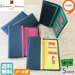人気のSalvatore Marra 5カラー二つ折り長財布  サイズ(約):たて9cm  よこ18...