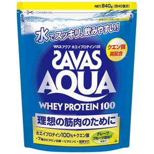 商品説明  ●商品説明:「ザバスアクアホエイプロテイン100グレープフルーツ風味」は、アクア製法によ...
