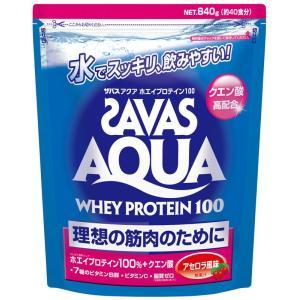 ●商品説明:「ザバス アクア ホエイプロテイン 100 アセロラ 風味」は、  アクア製法によりプロ...