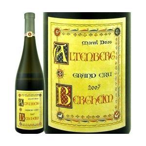 白ワイン フランス  マルセル ダイス アルテンベルク ド ベルクハイム グランクリュ 2001 w...