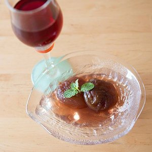 完熟 金時いちじくのワインコンポート2袋と ワイングラッセ6袋 詰合せ|tokyobishoku