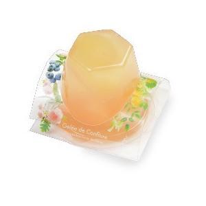 銀座のジンジャー 夏限定ジュレ6個セット 2箱 (マンゴー&オレンジ、ピーチ&ローズ、ブルーベリー&アールグレイ 各2個×2箱)|tokyobishoku|04