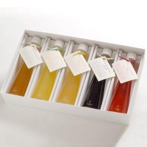 銀座のジンジャー 定番 5本セット(プレーン、柚子、レモン、ブルーベリー、苺) 1箱[計1,000ml]ジンジャーシロップ・ギフトボックス tokyobishoku