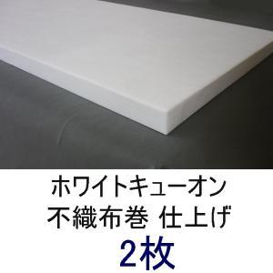 不織布巻ホワイトキューオン_厚み50mm(800×1820/ 2枚)★東京防音【特別配送便】|tokyobouon