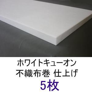 不織布巻ホワイトキューオン_厚み50mm(800×1820/ 5枚)★東京防音【特別配送便】|tokyobouon