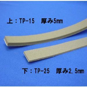 防音戸当りテープ TP-25 グレー (厚み2.5mm×15mm×2m/2本入)【小型配送】|tokyobouon|02