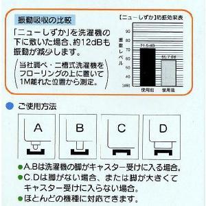 洗濯機用防振ゴム ニューしずか【小型配送】|tokyobouon|03