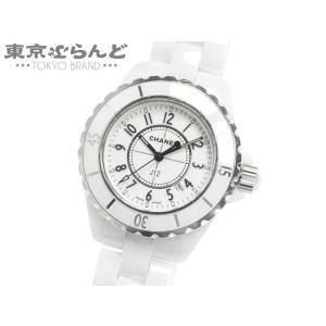 シャネル CHANEL J12 33MM 時計 腕時計 レディース クォーツ式 電池式 ハイテクセラ...