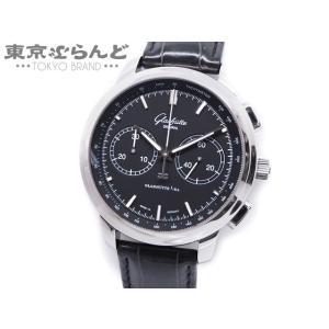 グラスヒュッテオリジナル GLASHUTTE ORIGINAL セネタ クロノグラフ XL 時計 腕...