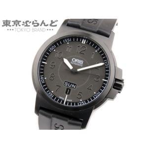オリス ORIS BC3 アドバンスド デイデイト 腕時計 自動巻き オートマチック AT 黒文字盤...