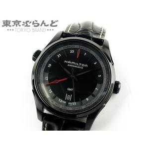 ハミルトン HAMILTON ジャズマスター GMT 時計 腕時計 メンズ H32685731 H3...