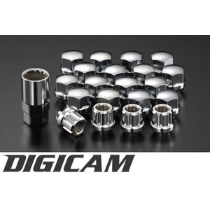 DIGICAM デジキャン ロックナット 20個セット[ロック4個] 貫通ナット|tokyocar
