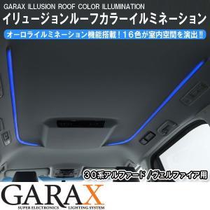 GARAX ギャラクス イリュージョンルーフカラーイルミネーション 30系アルファード/30系ヴェルファイア tokyocar