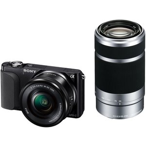 SONY デジタル一眼カメラ α NEX-3NY ダブルズームレンズキット (ブラック)|tokyodenki
