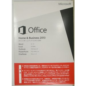 (新品・未開封)Microsoft Office Home and Business 2013 日本語 OEM版+PCパーツ