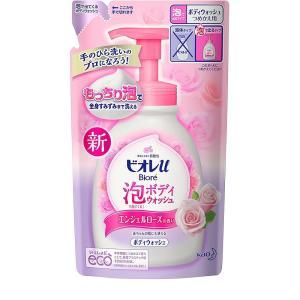 花王 ビオレu 泡で出てくるボディウォッシュ エンジェルローズの香り つめかえ用 480ml