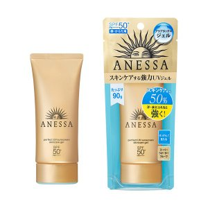 スキンケア成分50%配合。 汗・水にふれると強くなる。強力UV。「アクアブースター」搭載の顔・からだ...