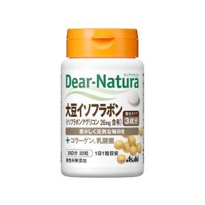 アサヒグループ食品 ディアナチュラ 大豆イソフラボン 30日分 30粒|tokyodogs