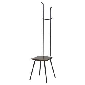 【送料無料】玄関 ハンガー付 チェア チェア ハンガー|tokyofanicya