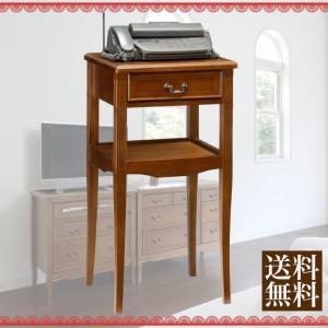 ファックス台 電話台 クラシックインテリア サポーレ スタンド sapore-2320 木製 シンプル コンソール FAX台 TEL台 ファックス台 電話台 送料込 送料無料|tokyofanicya