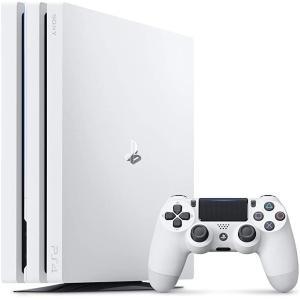 【新品】PlayStation 4 Pro グレイシャー・ホワイト 1TB (CUH-7200BB0...