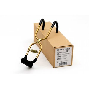 ブーツハンガー真鍮 日本製 職人の手作り 安全靴 エンジニアブーツ等重い靴にも対応|tokyohanger|04