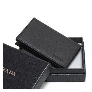 PRADA プラダ 名刺入れ 2MC122 SAFFIANO1 NERO|tokyoimport