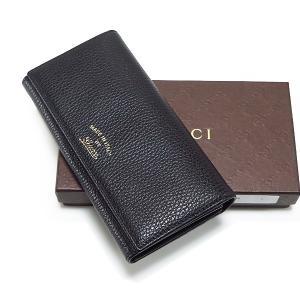 グッチ GUCCI 財布 メンズ レディース 二つ折り長財布 ブラック