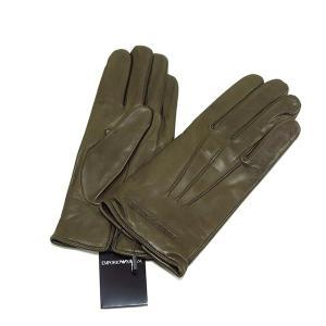 EMPORIO ARMANI エンポリオ アルマーニ ラムスキングローブ 革手袋|tokyoimport