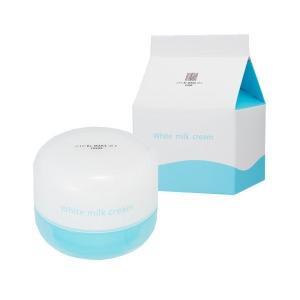 Re:MAKE ホワイトミルククリーム 送料無料 ミルクの香り 美肌 美白 植物プラセンタ|tokyoline2015