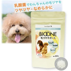 バイオワン 毛づやサポート いぬさぷり 60g 送料無料 ペット 犬用健康補助 シニア犬  日本生物.科学研究所 tokyoline2015