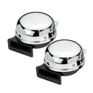 SN-200D タービンホーン120dBクロームメッキ24v|tokyomach7